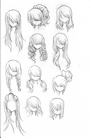 Black And White Tribal Joy Studio Design Gallery Best Design furthermore Top 35 Hinh Anh Chibi Ve Bang Tay De Thuong Dep Nhat 2015 as well How To Draw Ariel besides British Hairstyles also Anime Hairstyles. on cute easy hairstyles for long hair html