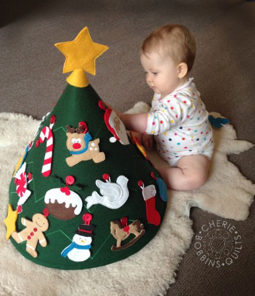 C mo hacer un rbol de navidad infantil paso a paso - Arbol de navidad infantil ...