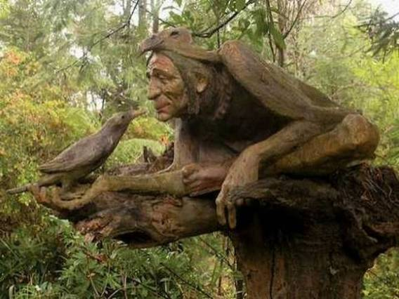 Real funny pictures amazing tree sculptures for nature lovers