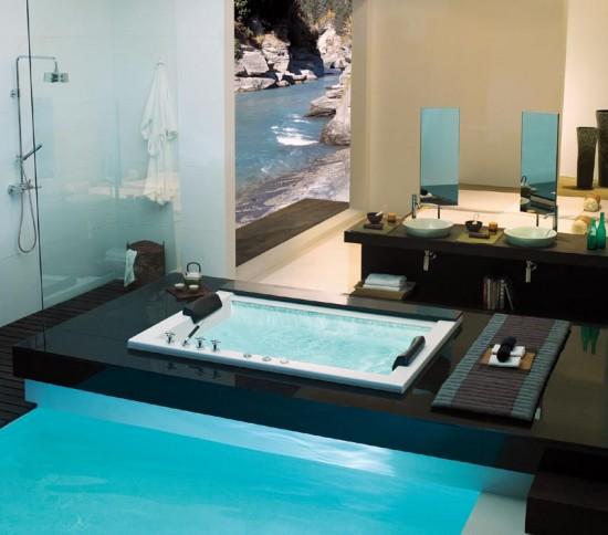 Fotos De Baños Con Tina Hidromasaje:Bañeras de hidromasaje, una tradición japonesa en el cuarto de baño