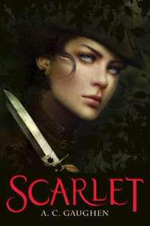 Scarlet A.C. Gaughen Robin Hood retelling review summary