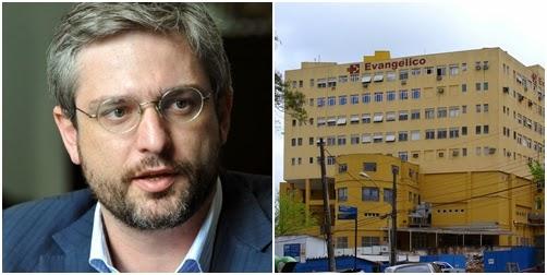 Hospital Evangélico fecha portas para emergências e consultas