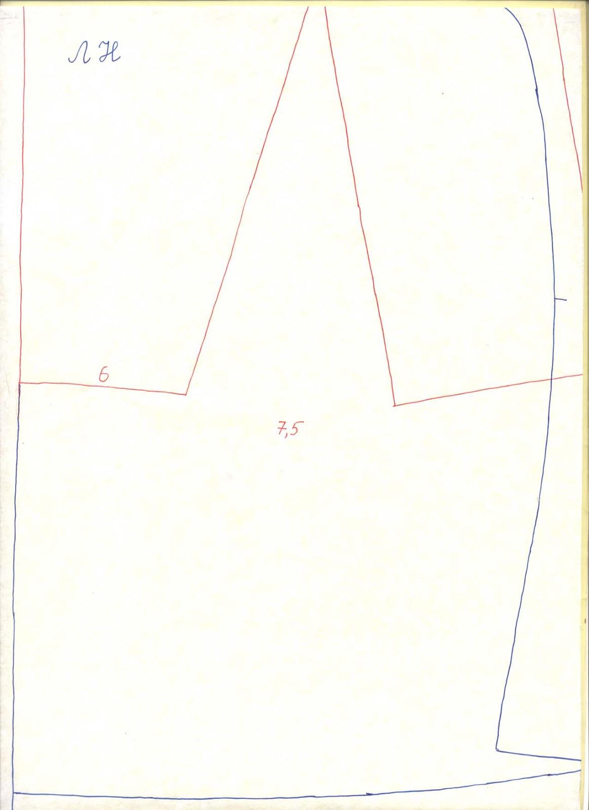 Платье-рубашка: выкройка. Платье 27