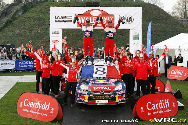 Loeb campeón del mundo por 8ª vez consecutiva