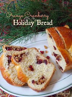 Orange Cranberry Holiday Bread from Yesterfood