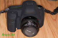 Delkin Snug-it for Canon 5D mark III, front view