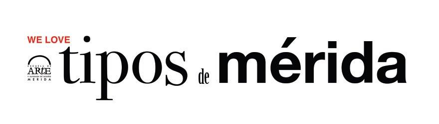 Tipos de Mérida