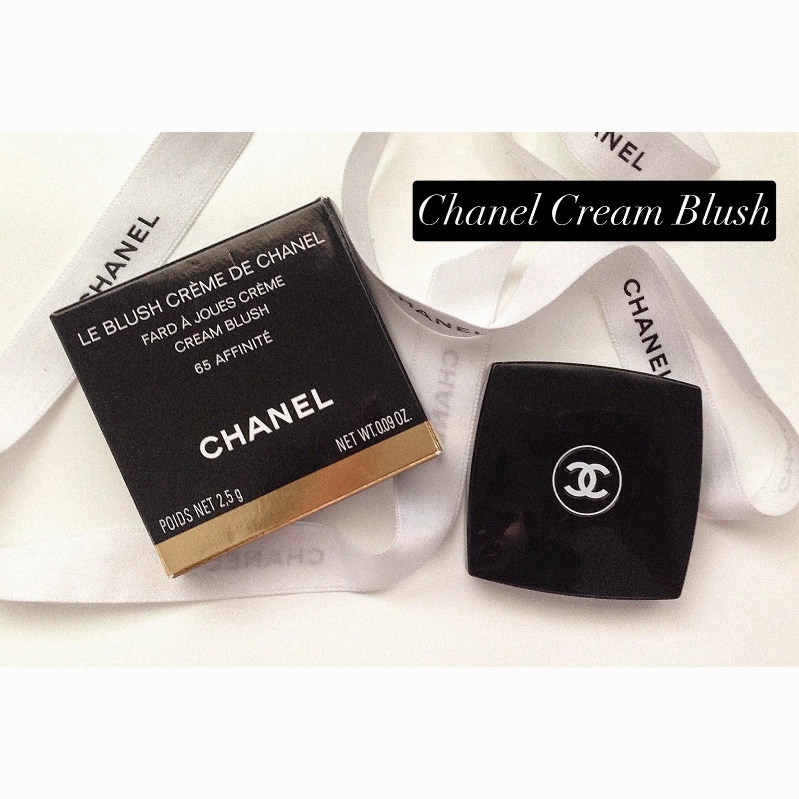 chanel blush cream review