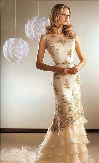 Cream colored wedding dresses Wedding dresses 2014