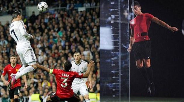 Lompatan Cristiano Ronaldo Lebih Tinggi Dari Pemain NBA
