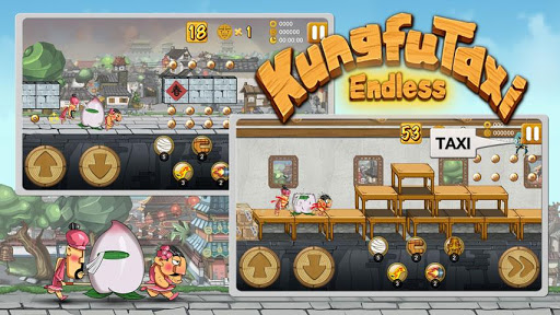 Descargar KungfuTaxi Endless Modificado v1.0 .apk