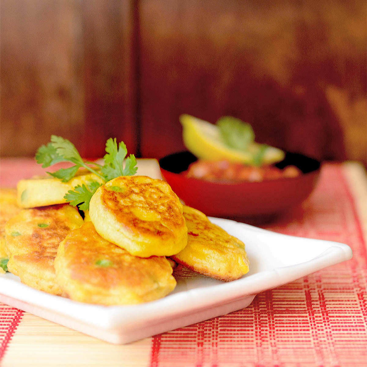 Grilled Corn Fritters With Jarlsberg Pimento Cheese Recipe ...
