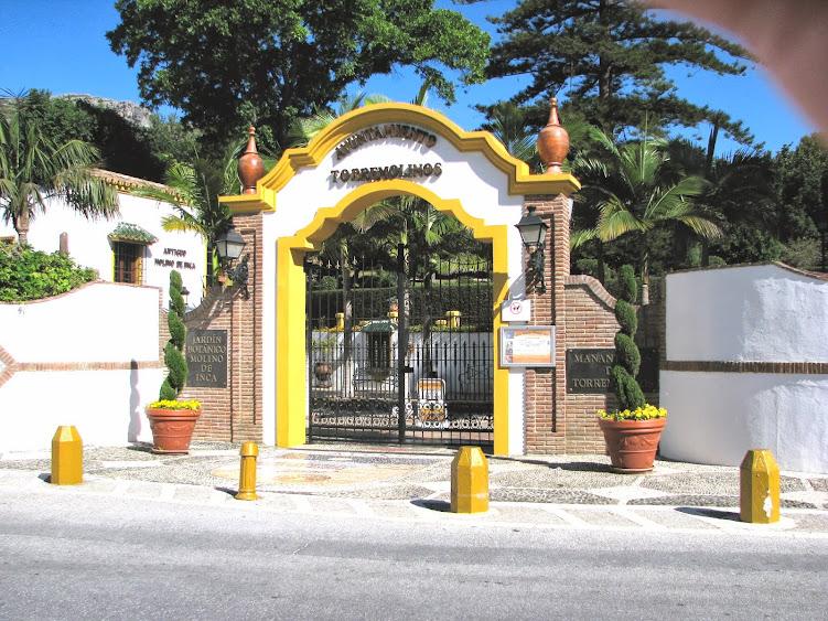 Notas cordobesas molino del inca jard n bot nico de for Jardin botanico de malaga