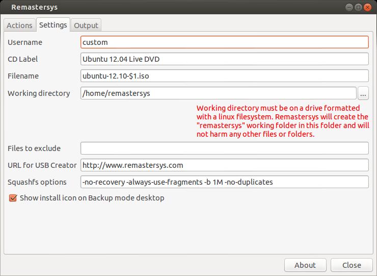 how to create a linux live cd ubuntu