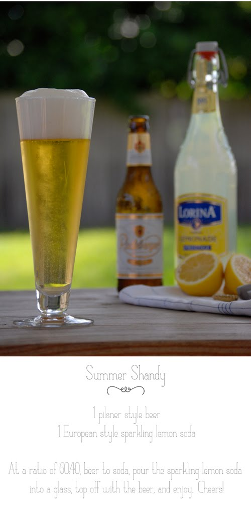 summer shandy cocktail recipe