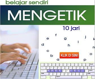 BELAJAR SENDIRI NGETIK 10 JARI