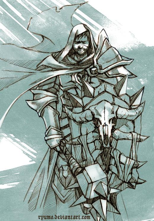Lamp RPG: Golev the Paladin por ryumo