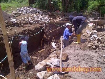 Perbaikan Jalan Objek Wisata Kawah Papandayan