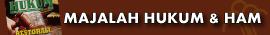MAJALAH HUKUM DAN HAM