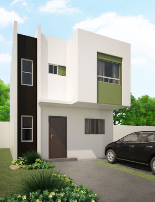 fachada moderna modelo Amaral