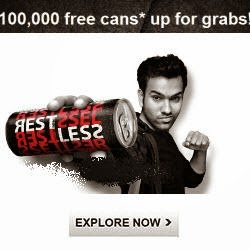 Free Restless Action Drink 2 Cans