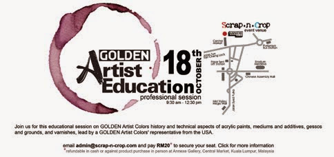 COMING SOON!!! Golden Artist Color Event in SnC