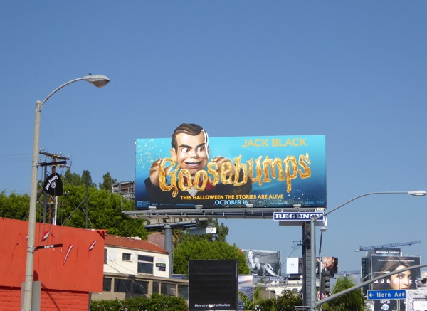 Goosebumps ventriloquist dummy billboard