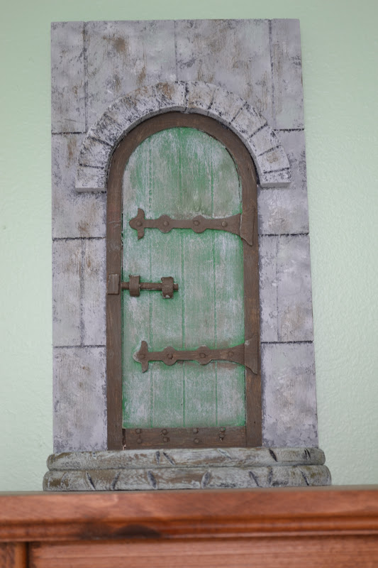 Closet crafter fairy door for Wooden fairy doors that open