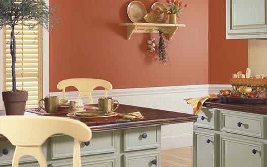 Room Ideas Likewise Red And White Kitchen Cabi S Small Kitchen Paint