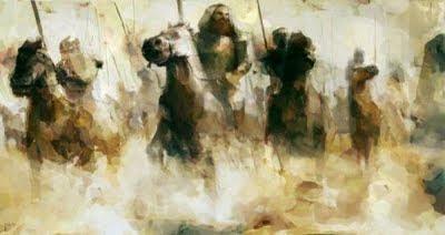 Peperangan Sharayim, Nabi Daud dan Raja Pertama Bani Israil
