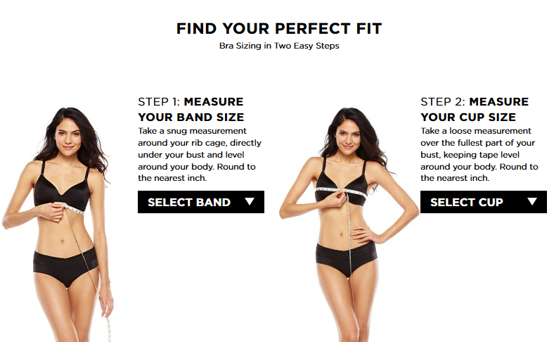 HOW I SHOPPED FOR A PERFECT FITTING BRA USING KOHL'S BRA ...