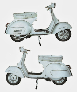 Vespa160cc GranSport VSB1T