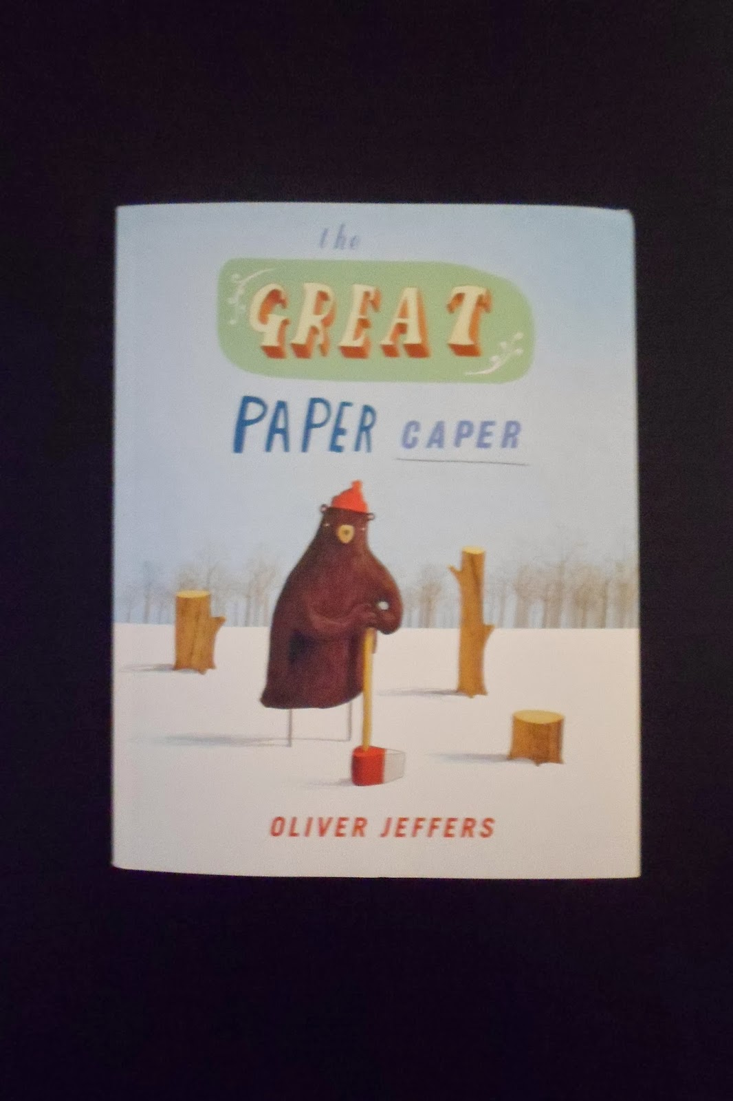 the great paper caper While goose is busy in the hair salon and owl plays hide-and-seek, someone in the woods is up to no good.