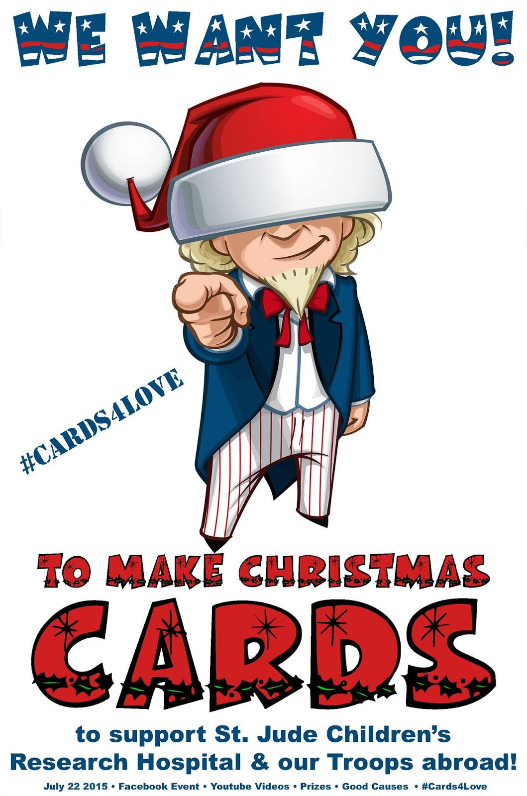 cards4love give back this christmas in july season giveaway