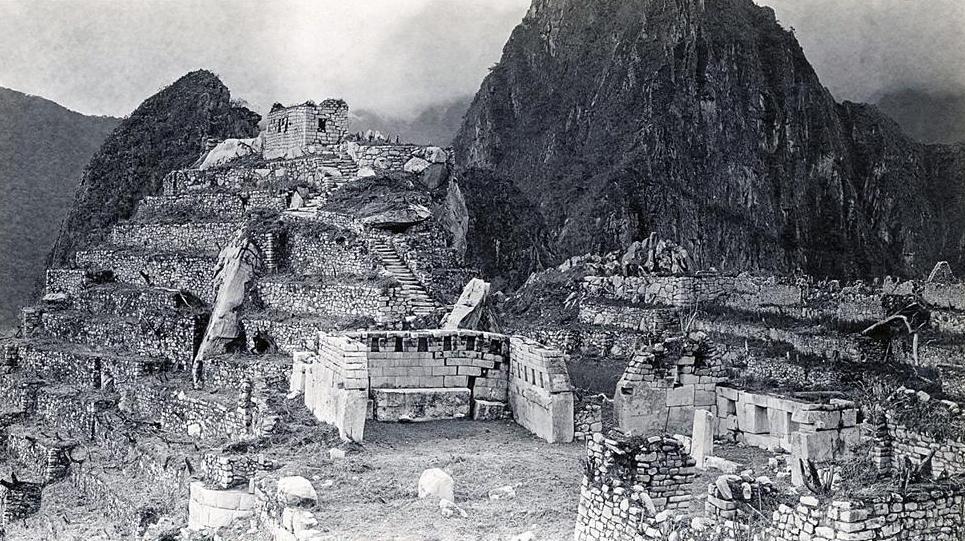 Una de las primeras fotos tomadas del Santuario.