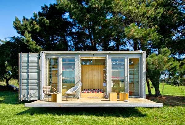 A Shipping Container Costs About $2,000. What These 15 People Did With That Is Beyond Epic - A shopping container doesn't have to be a closed space