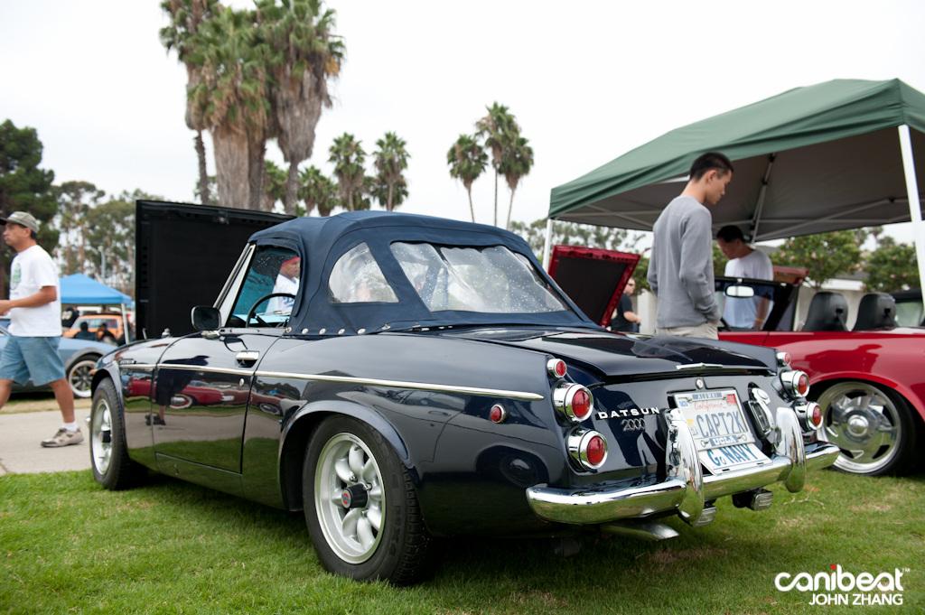 Datsun Sports 2000, klasyczne samochody bez dachu, roadster, fajne auta