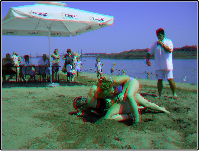 Takmičenje na obali Save kod Šapca