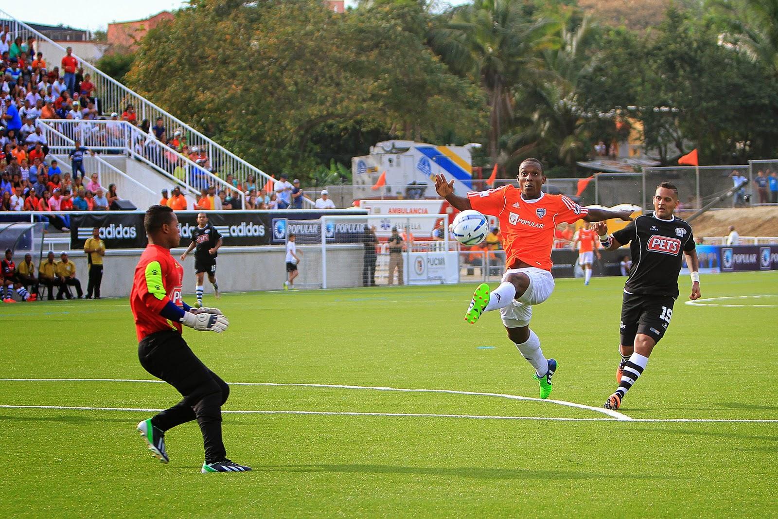 Cibao FC y Moca igualan a dos goles