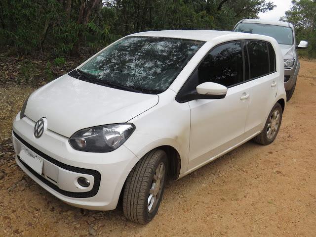 Volkswagen High Up! TSI Branco - fotos e detalhes