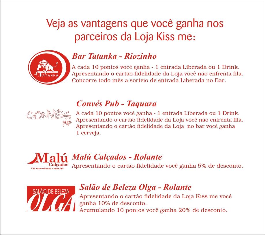Conhecido Blog Loja Kiss me: Janeiro 2012 QO55