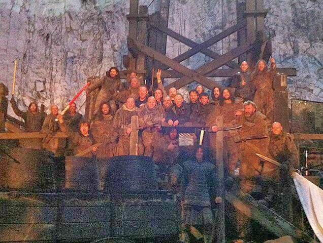 Castillo negro episodio 4x09 - Juego de Tronos en los siete reinos