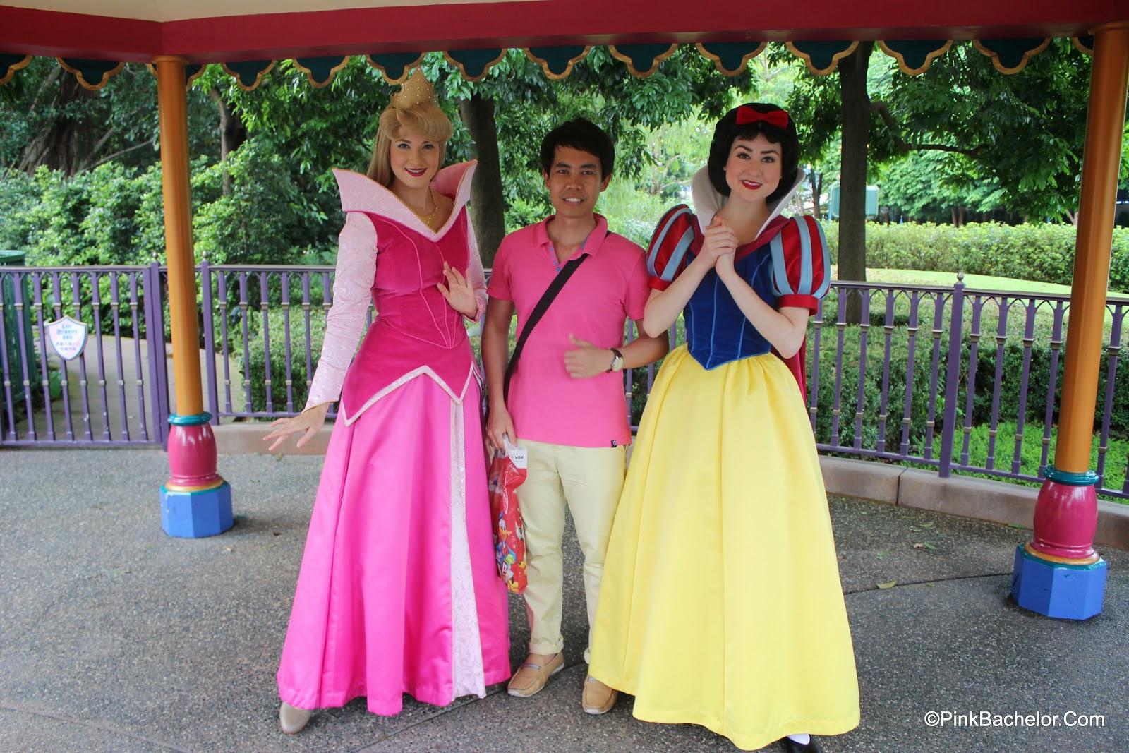 July 2014 pink bachelor hk disneyland disney princesses meet and greet m4hsunfo