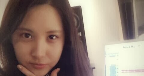 [Picture] 131115 SNSD Seohyun Twitter Update: 'good morning everybody'