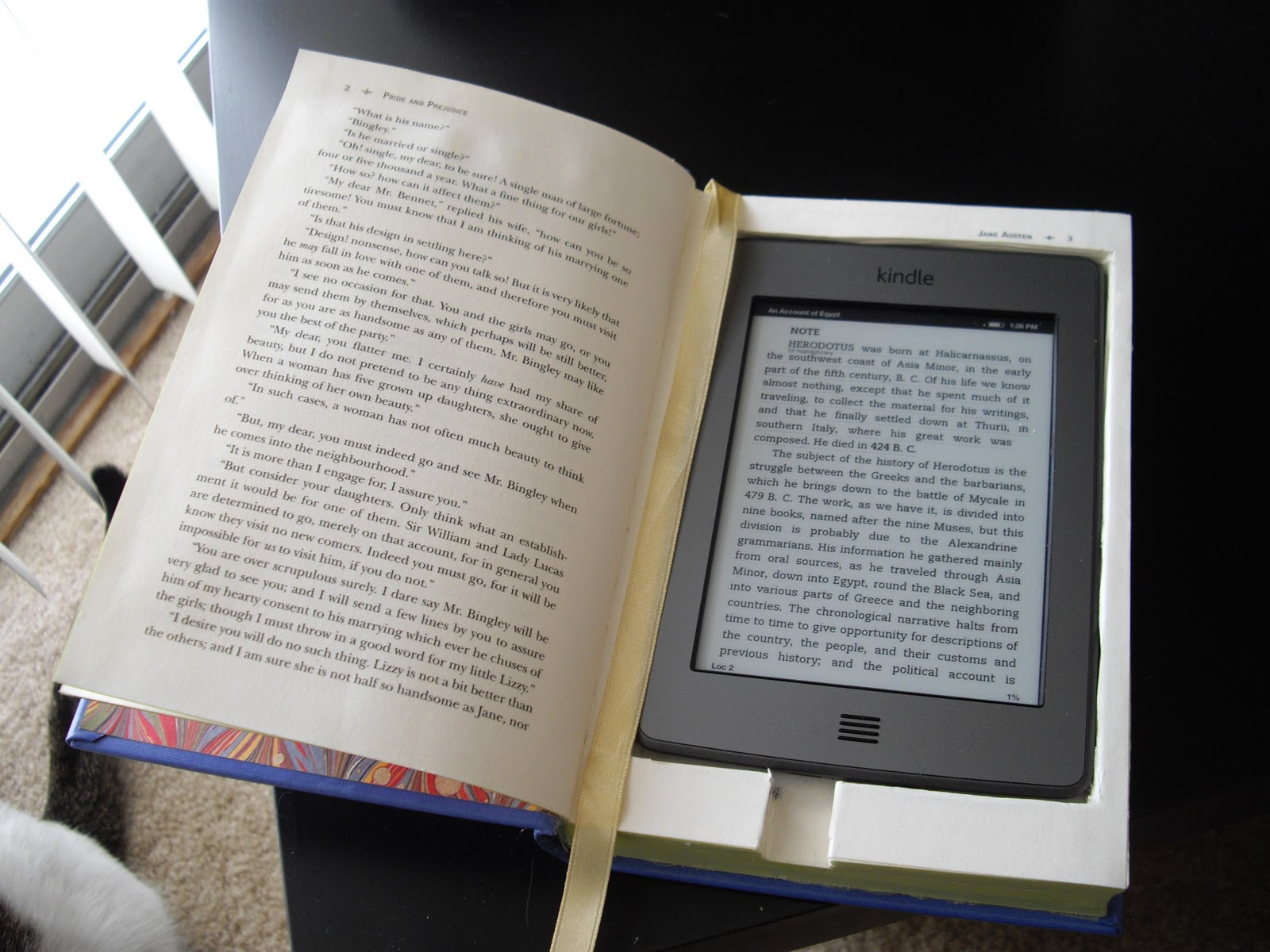 can you share kindle books