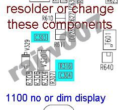 Solusi Lcd Blank Putih Nokia 2300 1100 | Teknik Dasar Servis Hp