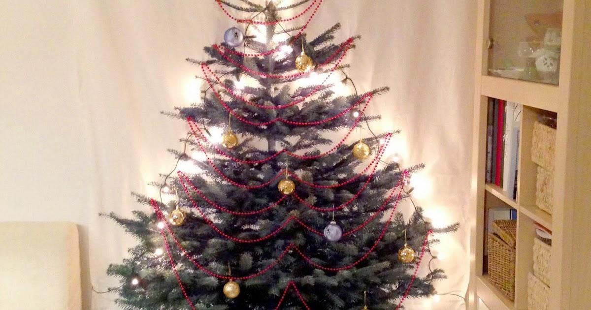 Handcraftmarie Mein IKEA Vinter Stoff Weihnachtsbaum