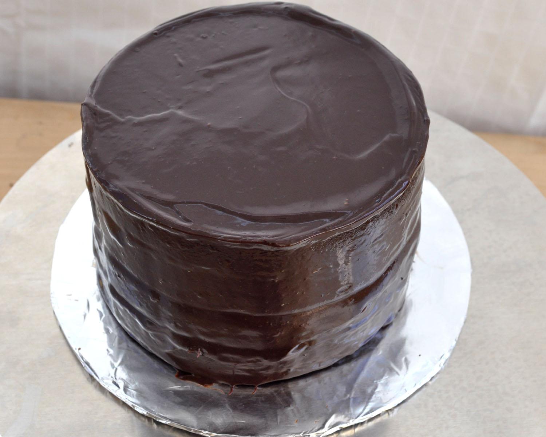 chocolate frosting dark chocolate ganache and decadent chocolate dark ...