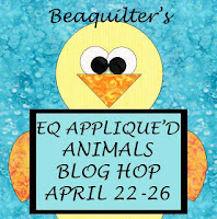 EQ Appliqued Animals Blog Hop