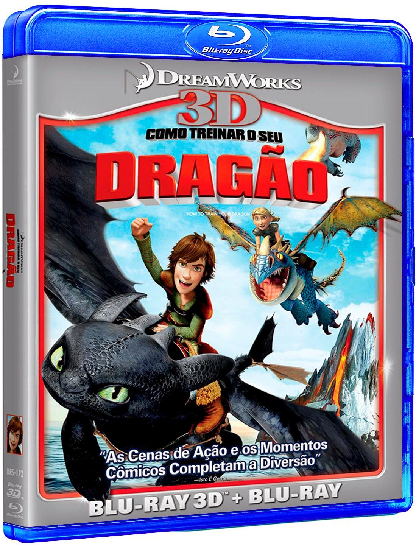 Como Treinar o seu Dragão (2010) BluRay 1080p 3D HSBS Dublado